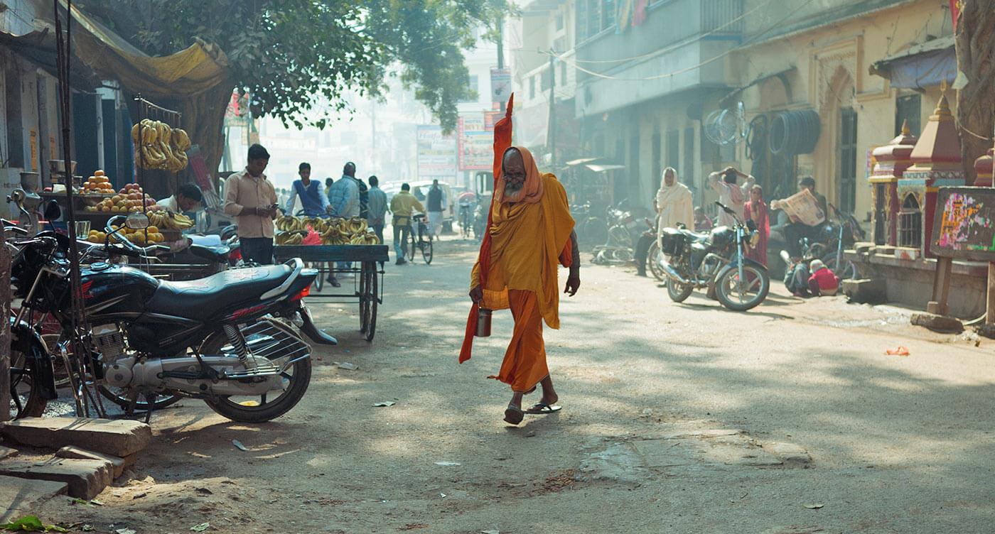 Sadhu dal  sanscrito uomo buono