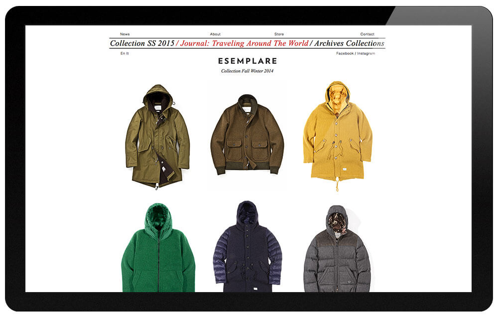 Esemplare collection
