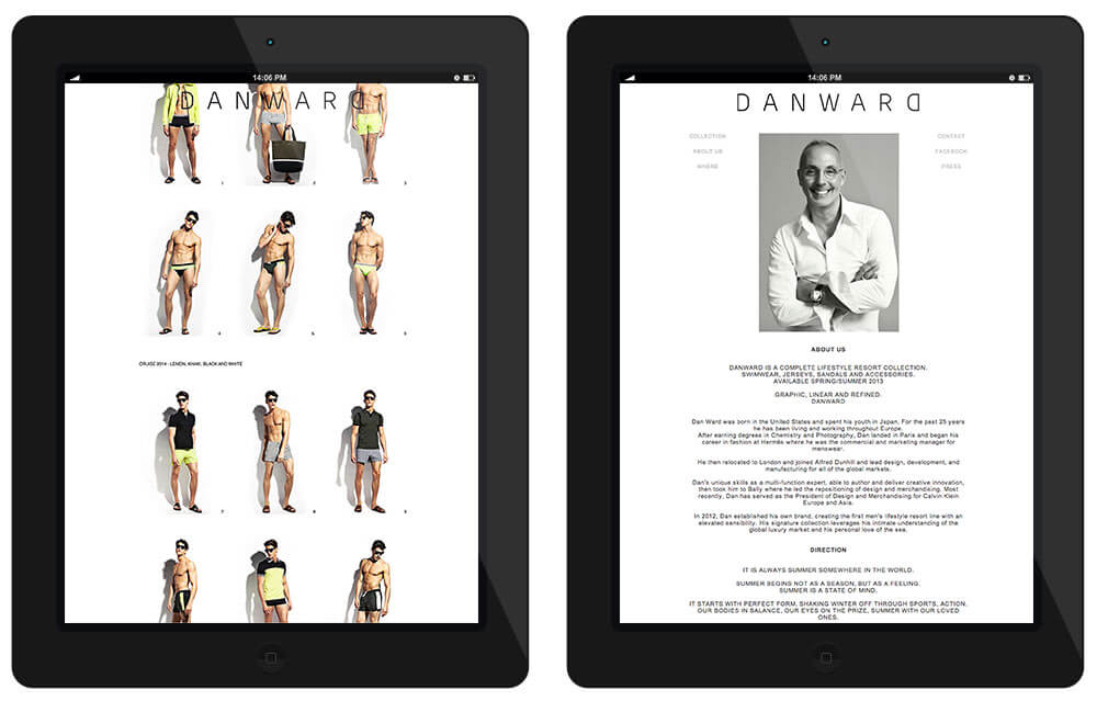 DANWARD designer swimwear and footwear collection includes sophisticated swim shorts, light sportswear, summer sandals, and our iconic fashion flip-flops.