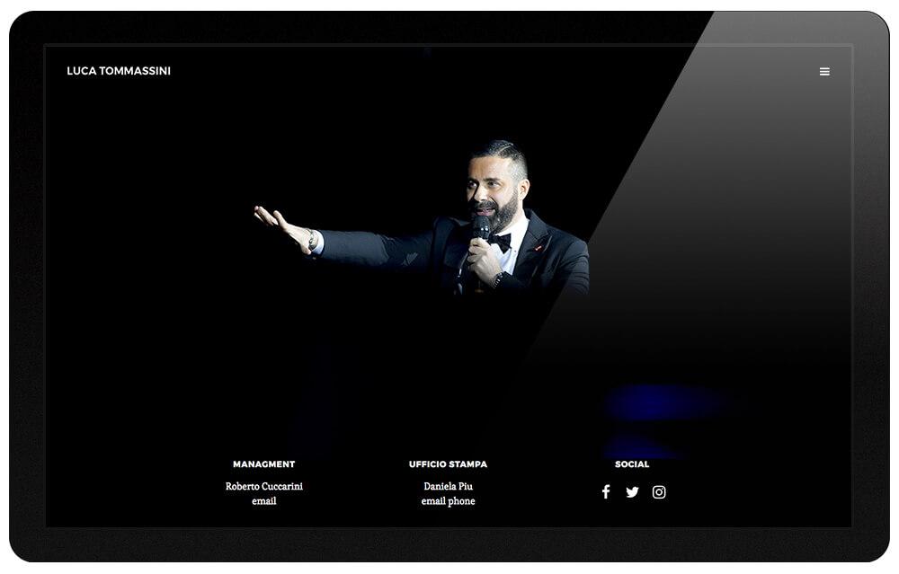 Luca Tommassini sito web ufficiale 2017