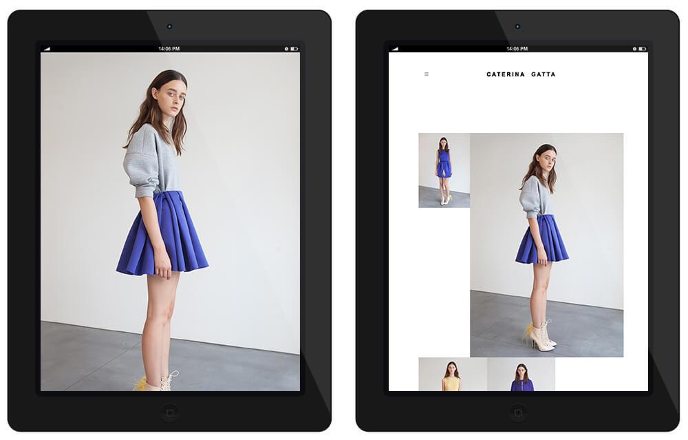 Caterina Gatta Fashion designer, La moda è una fabbrica di sogni