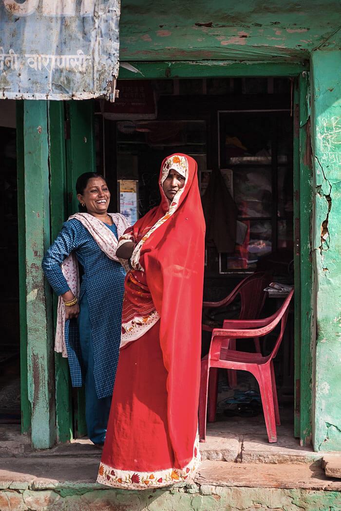 Reportage Varanasi - coloti dell'india