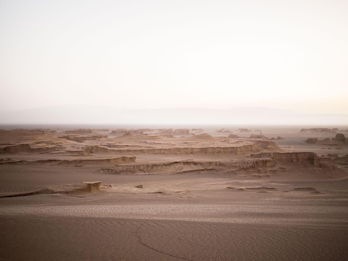 reportage deserto dei Kalut in Iran