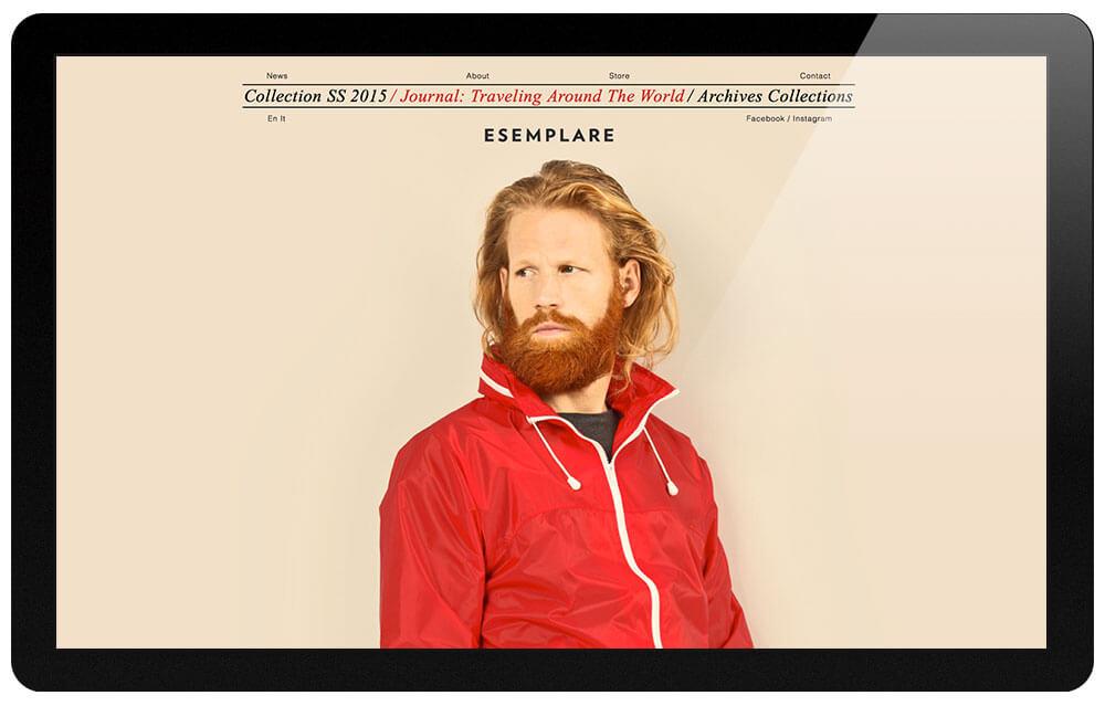 Esemplare homepage