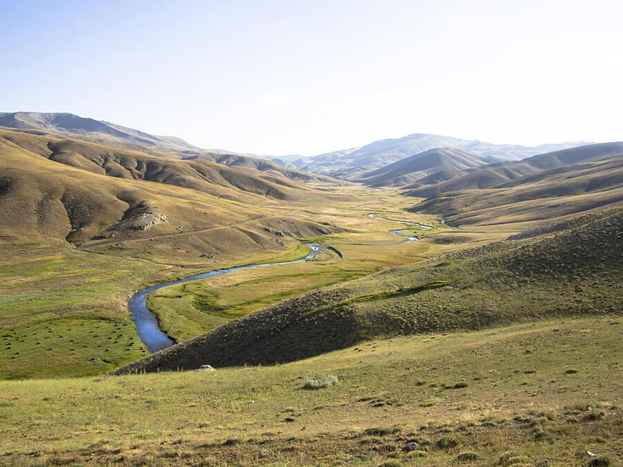 corso del fiume Eufrate