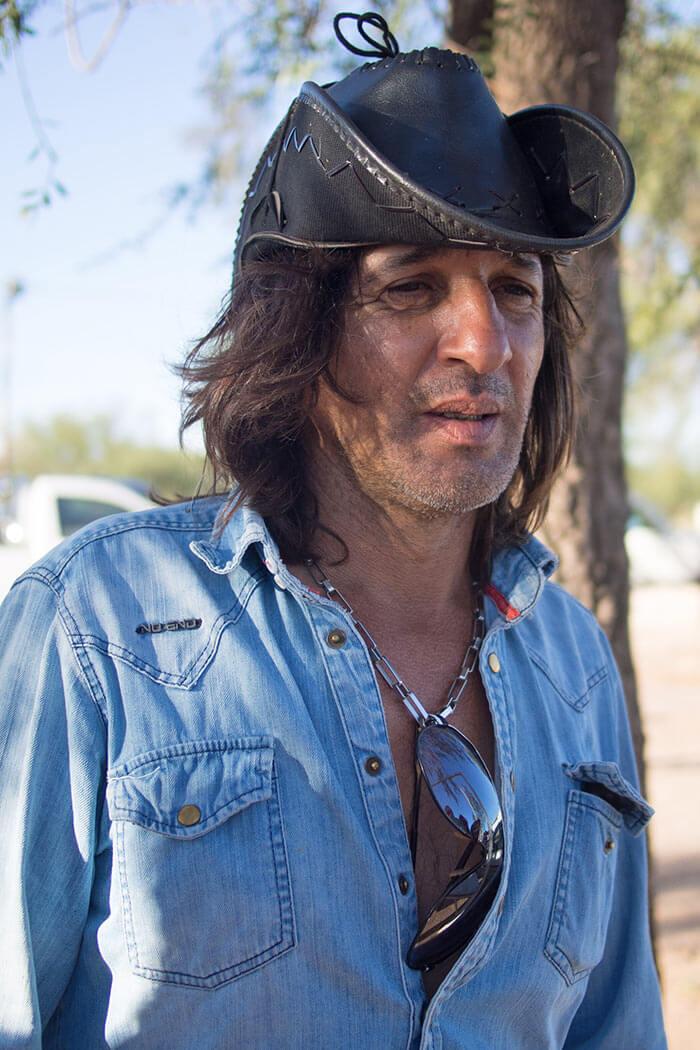 portrait gaucho argentino cichelito