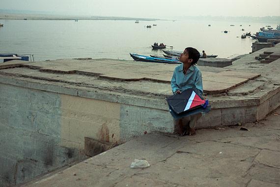 Reportage Varanasi - i bambini giocano con gli aquiloni