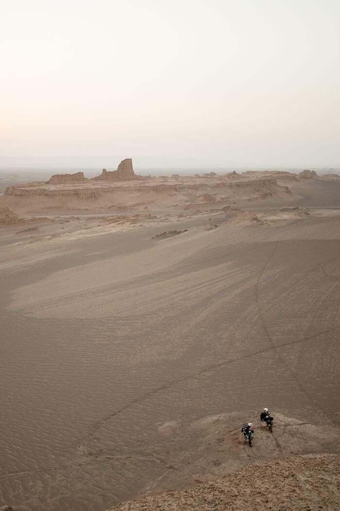 reportage dal Deserto Iran