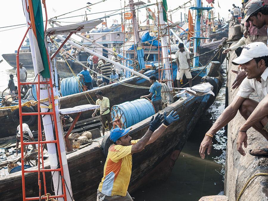 pescherecci non attraccano alle alte banchine