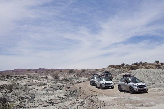 Valle della Luna Argentina - MINI BMW