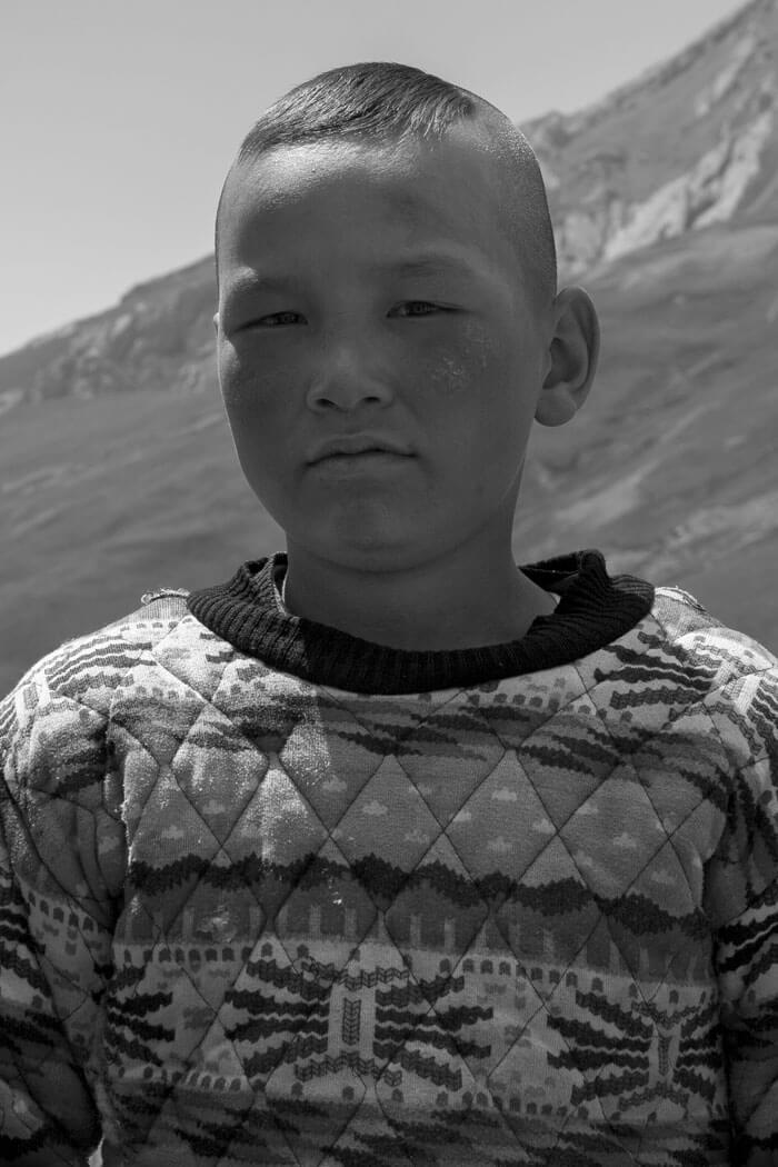 portrait bambino luigi de santis