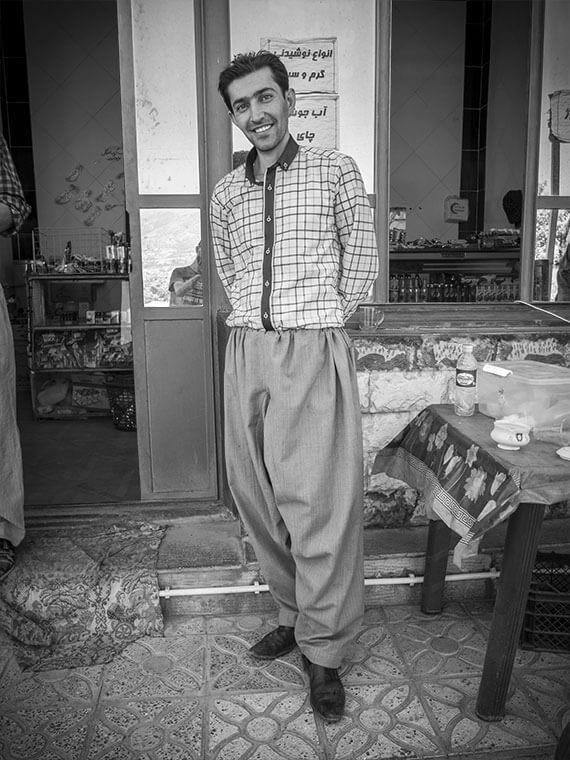reportage portrait ragazzo kurdistan