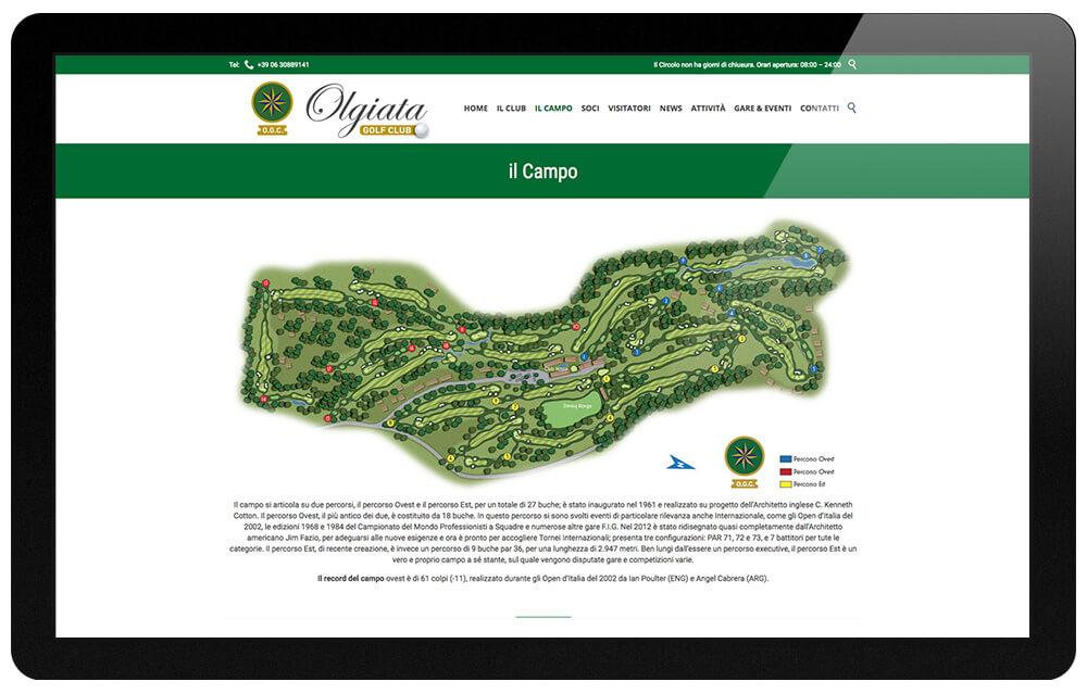 Olgiata Golf Club Roma campo di gioco