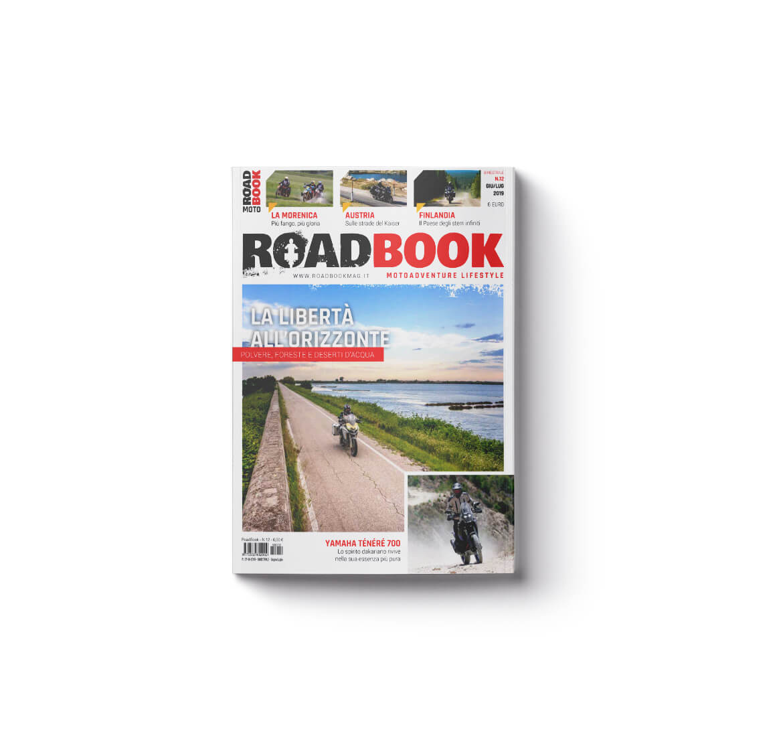 Rivista RoadBook copertina