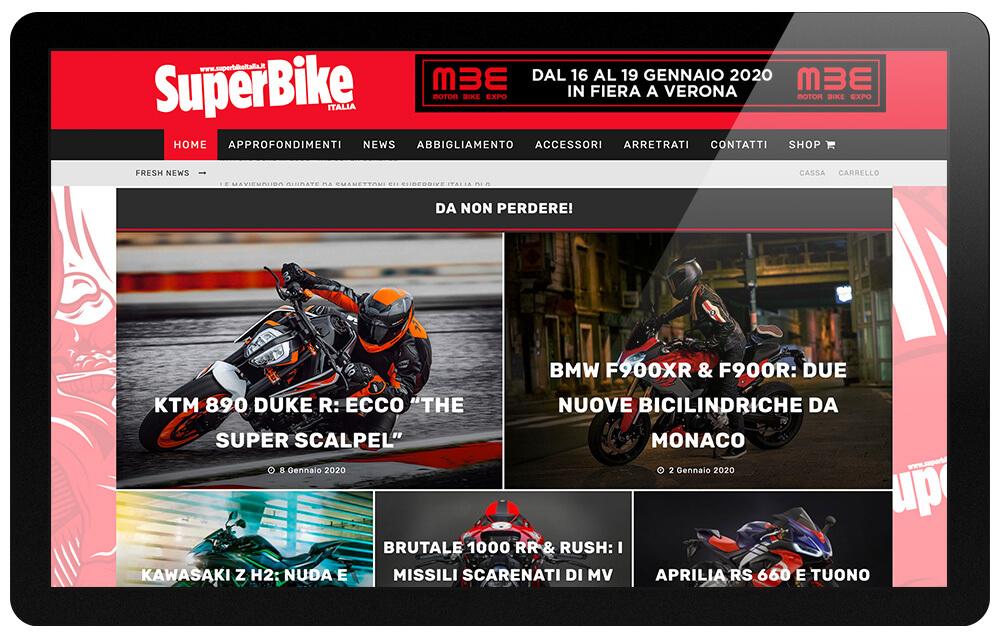 Super Bike Italia website
