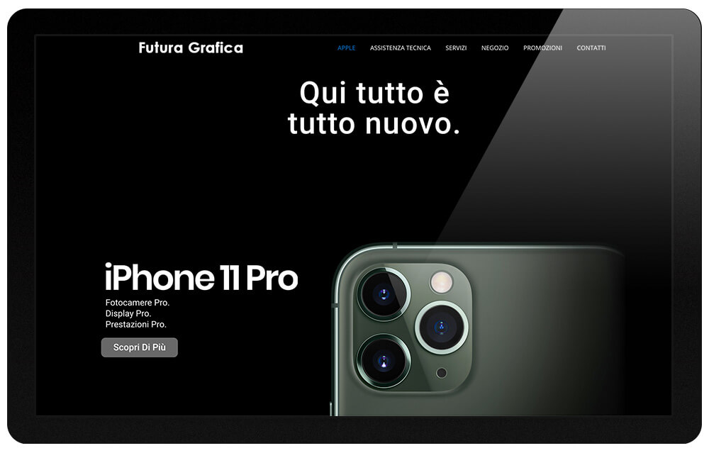 Futura Grafica Roma website