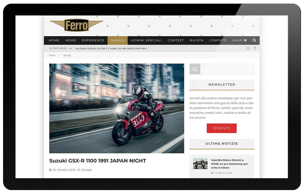 rivista Ferro magazine Milano articoli