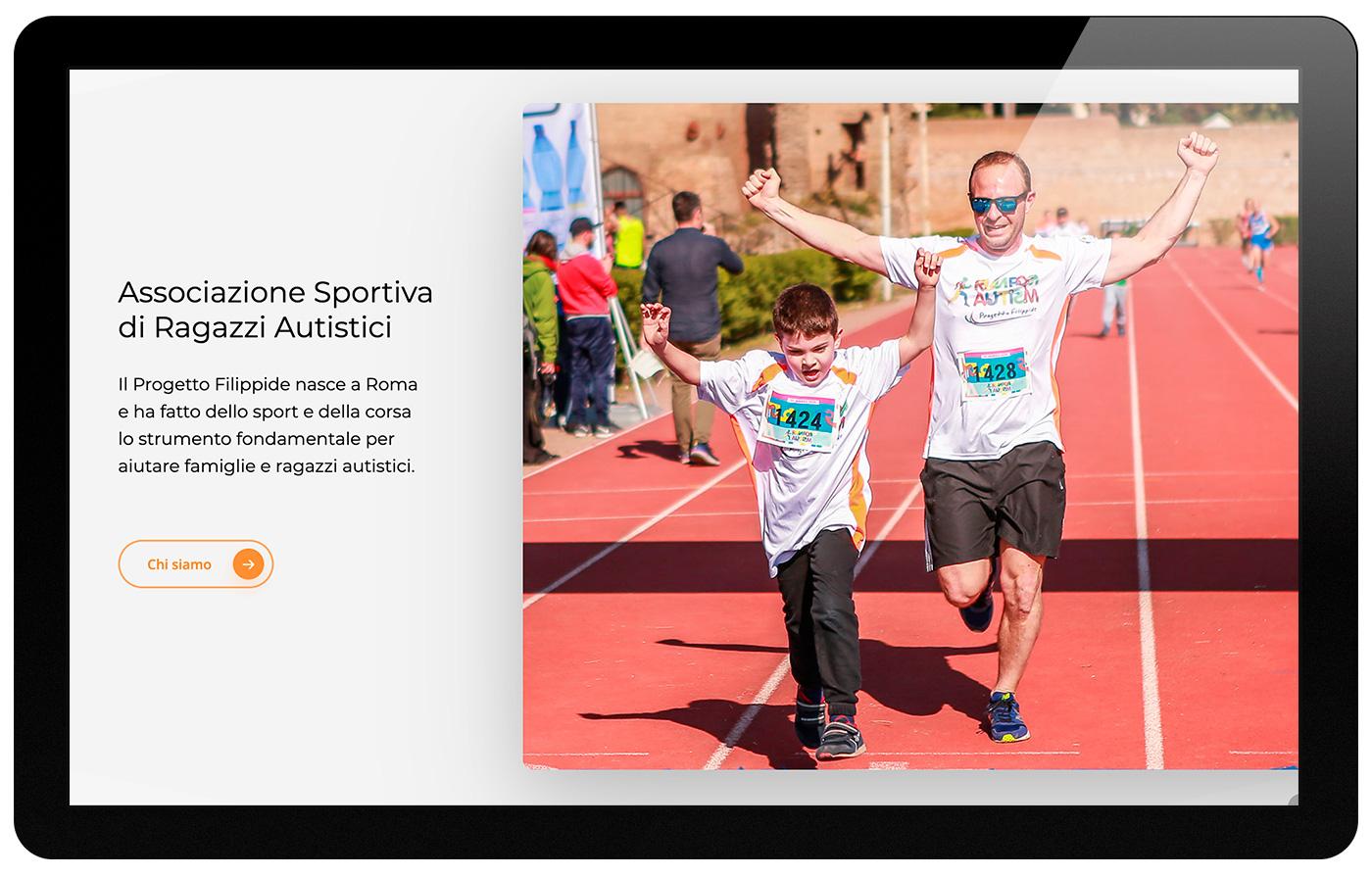 Progetto Filippide associazione sportiva autismo