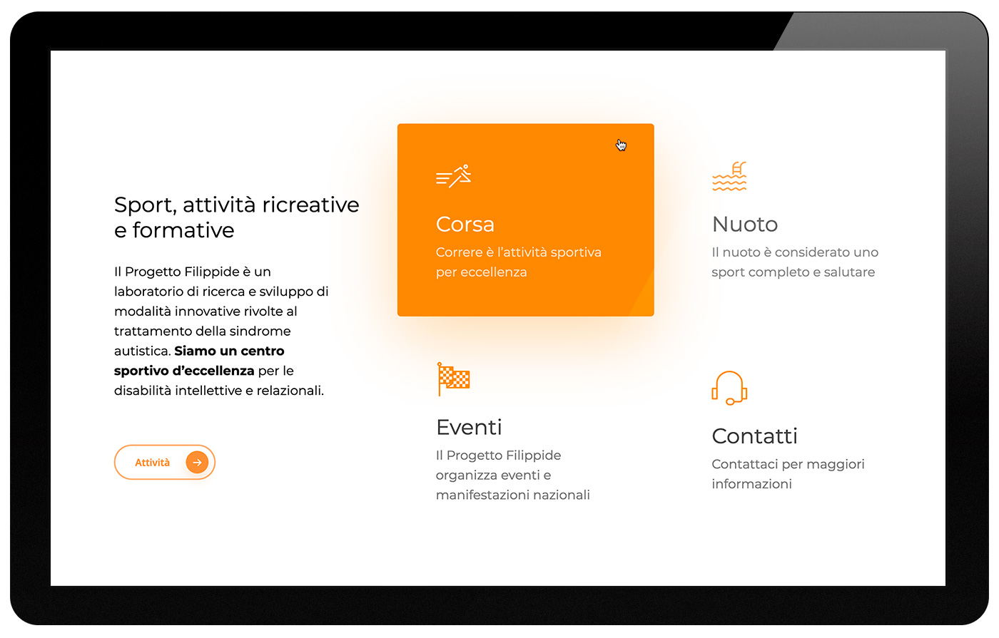 Progetto Filippide website Luigi De Santis